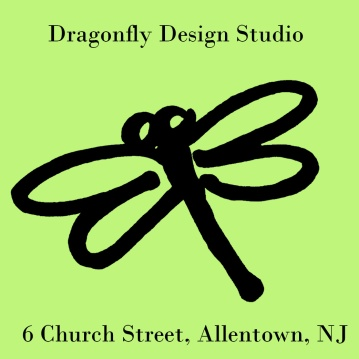 Dragonfly Design Studio, Allentown, NJ features many local artists. https://www.facebook.com/RuthDragonfly/
