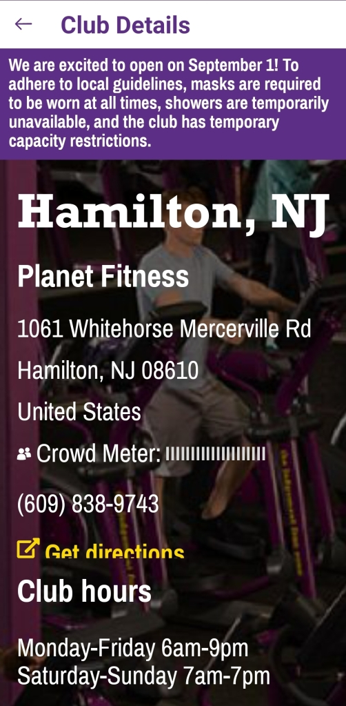 Many Gyms Reopen Today At 25 Capacity Many Have Modified Hours Midjersey News